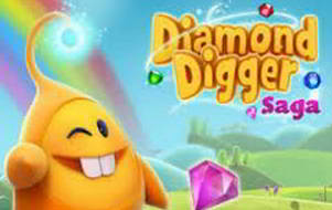 solution diamond digger saga niveau 98