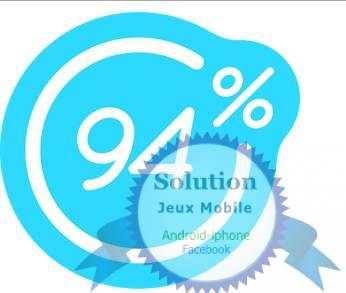 Solution 94% On manque de temps pour le faire