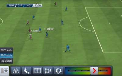 pes club manager mode match