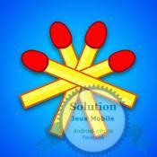 solution Allumettes Niveau 121 à 130