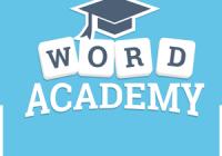 Solution Word Academy Génie niveau 1 à 20