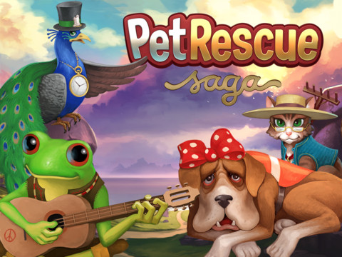 solution Pet Rescue Saga Niveau 1096