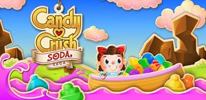solution candy Crush Soda Niveau 521 à 525
