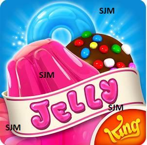 Candy Crush Jelly Saga niveau 1 - 2 - 3 - 4 - 5