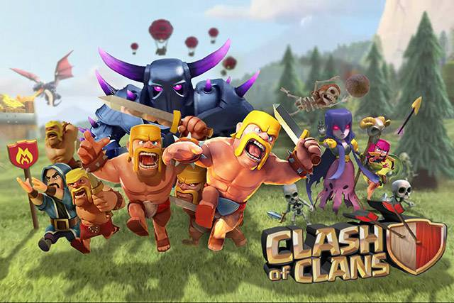 video clash of clans top 10