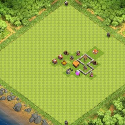 COC village HDV 2 mode farming