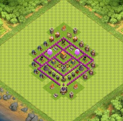 COC village HDV 6 mode farming