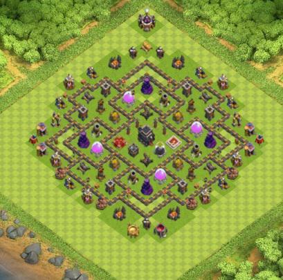 COC village HDV 9 mode farming