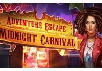 solution Adventure Escape Carnival chapitre 1