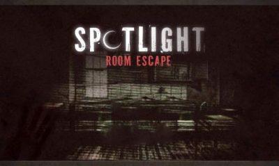 solution Spotlight Room Escape la menace chapitre 1