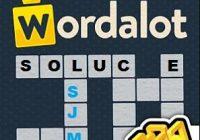 solution wordalot niveau 166 à 170