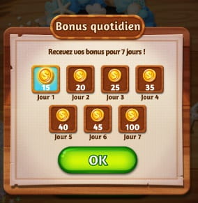 Word cookies Bonus quotidien