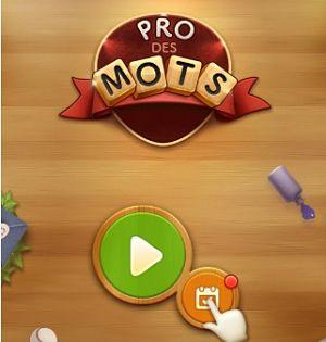 Solution pro des mots d fi quotidien juillet 2017 solution jeux mobile - Pro des mots 210 ...