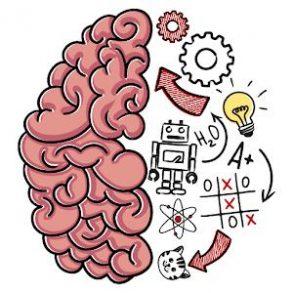 Brain Test solution niveau 1 à 220 - casse-têtes
