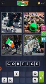 4 Images 1 Mot Énigme Journalière Irlande 17 Mars 2020