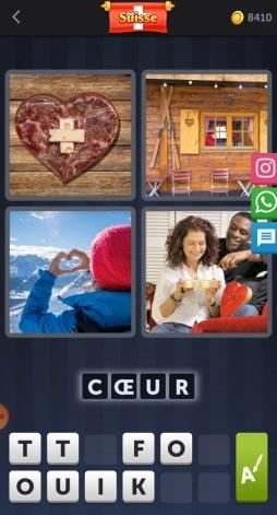 4 Images 1 Mot Énigme Journalière bonus suisse 3 juin 2020