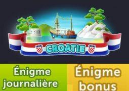 4 images 1 mot croatie juillet 2020 énigme journalières