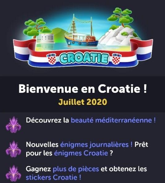 4 images 1 mot croatie juillet 2020