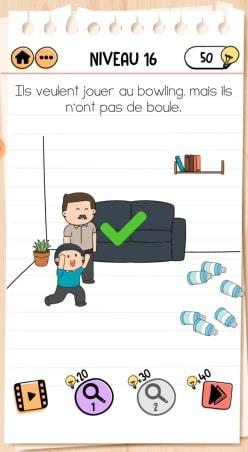 solution Brain Test 2 La Famille McMéninge NIVEAU 16