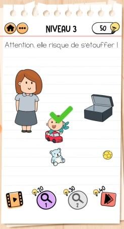 solution Brain Test 2 La Famille McMéninge NIVEAU 3