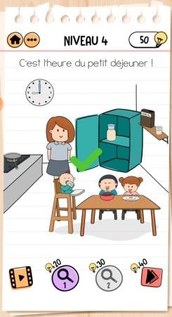 solution Brain Test 2 La Famille McMéninge NIVEAU 4