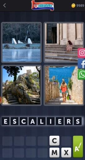 4 Images 1 Mot Énigme Journalière bonus Croatie20 juillet 2020