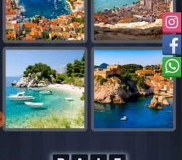 4 Images 1 Mot Énigme Journalière croatie 6 juillet 2020