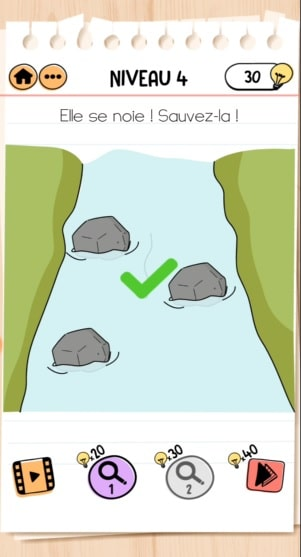 solution Brain Test 2 patty lapoisse NIVEAU 4