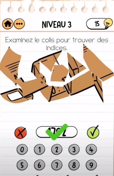 solution Brain Test 2 agent dupont NIVEAU 3
