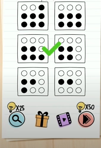 solution Brain Test niveau 275