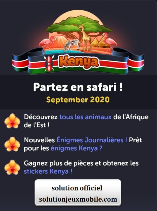 4 images 1 mot kenya Septembre 2020 enigme journaliere sjm com image 1