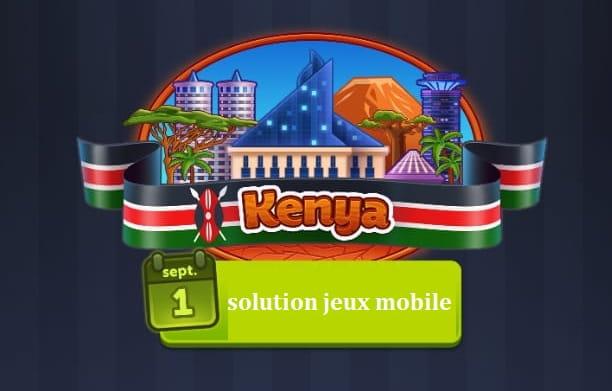 4 images 1 mot kenya enigme journaliere Septembre 2020 sjm