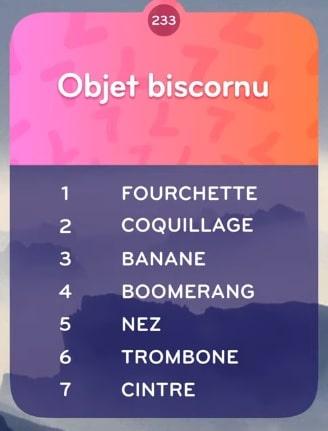 Objet Biscornu TOP 7 Niveau 233-min