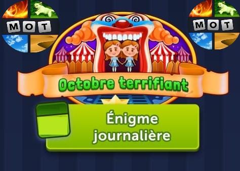 Solution 4 Images 1 Mot Octobre terrifiant octobre 2021